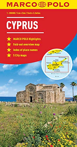 Cyprus Marco Polo Map By Marco Polo