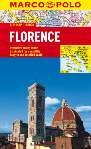 Florence City Map By Marco Polo