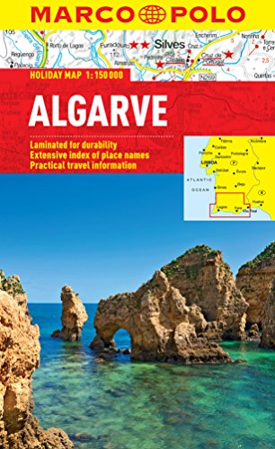 Algarve Marco Polo Holiday Map By Marco Polo