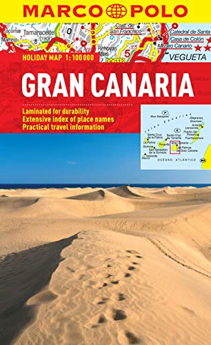 Gran Canaria Marco Polo Holiday Map By Marco Polo