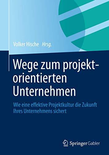 Wege Zum Projektorientierten Unternehmen By Volker Hische
