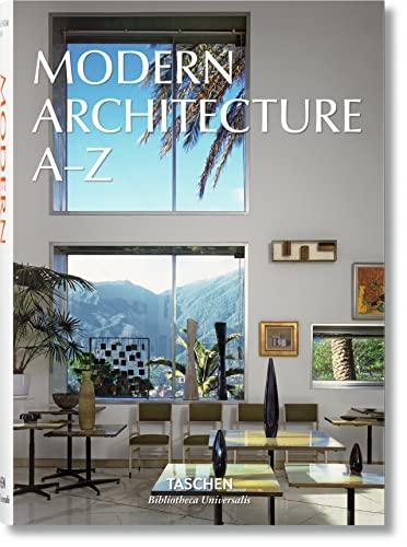 Modern Architecture A-Z By TASCHEN