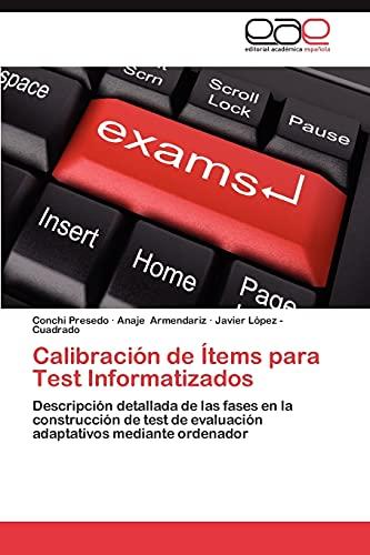 Calibracion de Items Para Test Informatizados By Conchi Presedo