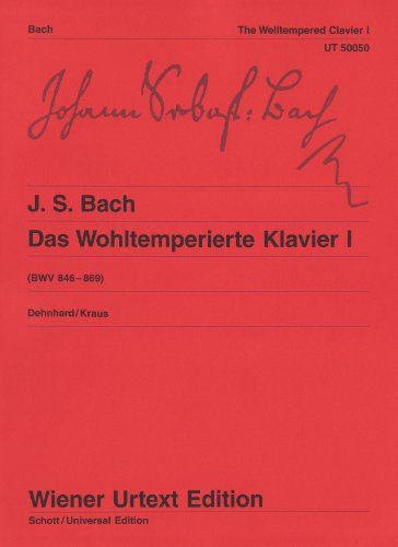 The Well Tempered Clavier Bwv 846-869 - Book 1 By Detlef Kraus