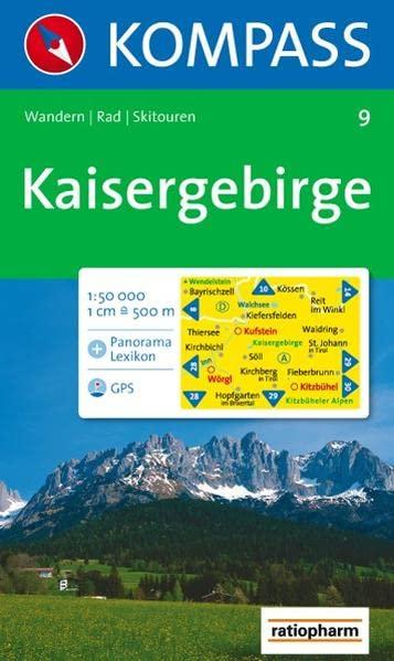 9: Kaisergebirge By 9 KOMPASS