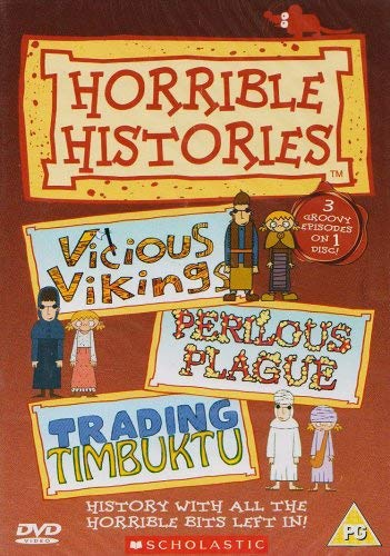 Horrible Histories - Vicious Vikings, Perilous Plague & Trading Timbuktu (3 episodes)