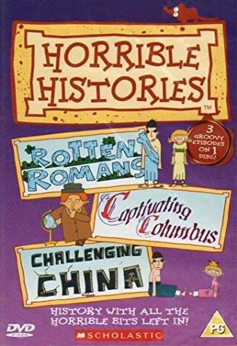 Horrible Histories - Rotten Romans, Captivating Columbus & Challenging China (Three Groovy Episodes)