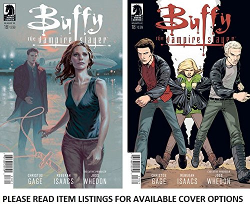 """Buffy the Vampire Slayer, Season 10, Issue 18 """"Old Demons: Conclusion"""" (Part Three) By Joss Whedon"""