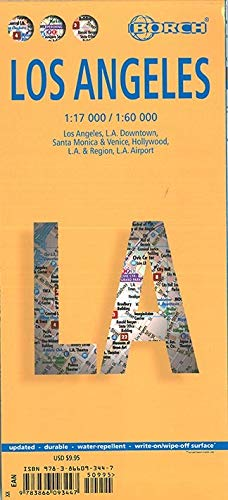 Los Angeles By Borch Map