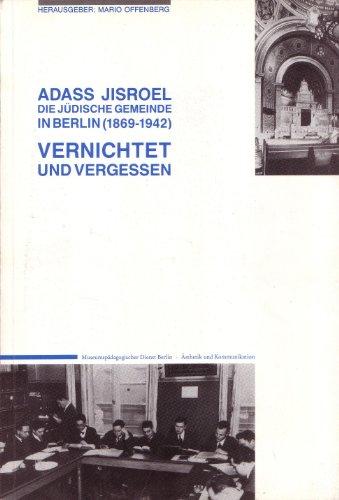 Adass Jisroel By (-). Author