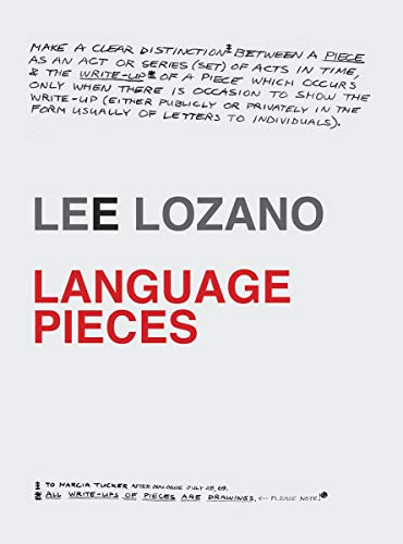 Lee Lozano - Language Pieces By Other Lee Lozano