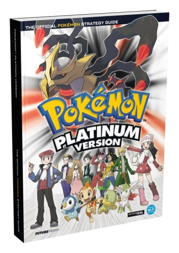 Pokemon Platinum Official Strategy Guide By Future Press