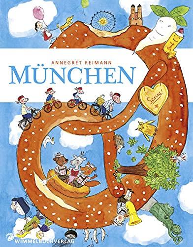 München Wimmelbuch pocket By Annegret Reimann