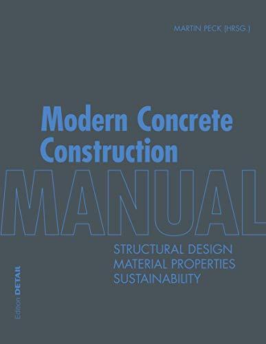 Modern Concrete Construction Manual By Martin Peck