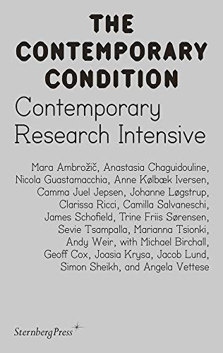 Contemporary Research Intensive By Geoff Cox