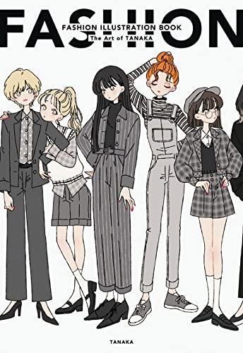 Fashion Illustration Book By Tanaka
