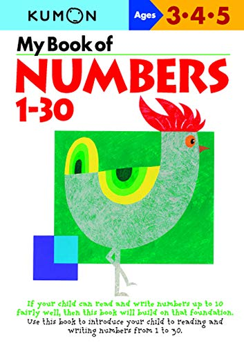 My Book of Numbers 1-30 von Kumon