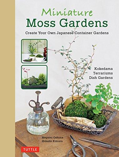 Miniature Moss Gardens By Megumi Oshima