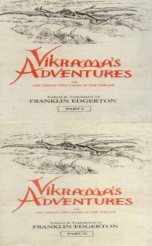 Vikrama's Adventures par Franklin Edgerton