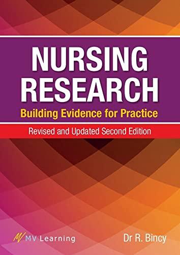 Nursing Research By R. Bincy