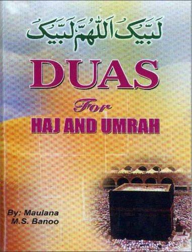 Duas for Haj and Umrah By M.S. Bando