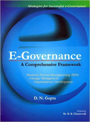 E-Governance By D. N. Gupta