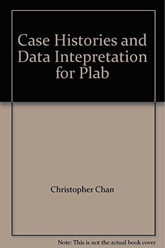 Case Histories and Data Intepretation for Plab By Christopher Chan