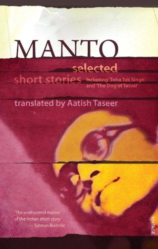 Manto: Selected Short Stories By Sa'adat Hasan Manto