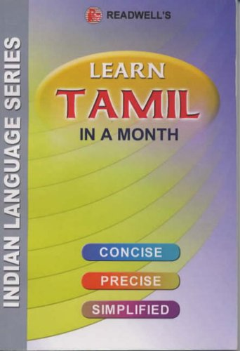 Learn Tamil in a Month By S. Krishnamurthi