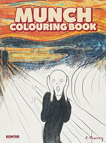 Munch Colouring Book By Martin Berdahl Aamundsen