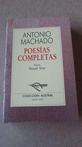 Poesias Completas By Machado