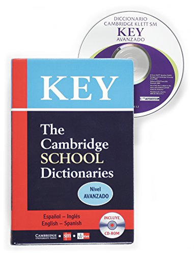SM Key Avanzado Spanish-English Dictionary with CD by
