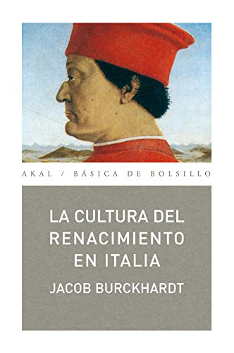 La Cultura del Renacimiento En Italia By Jacob Burckhardt