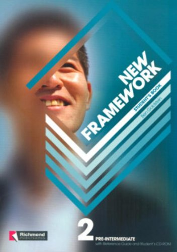 New Framework 2 Student's Book & Reference Guide & CD-ROM Pr By Ben Goldstein