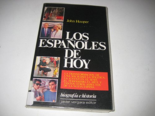 Los Espanoles De Hoy By J. Hooper