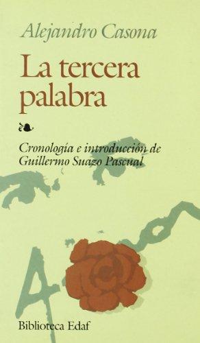La Tercera Palabra By Alejandro Casona