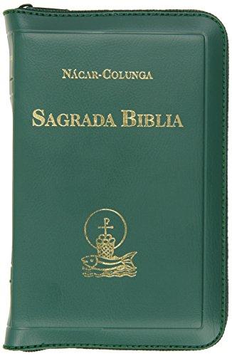 Sagrada Biblia - Con Cierre / Chica de Bolsillo By Nacar-Colunga
