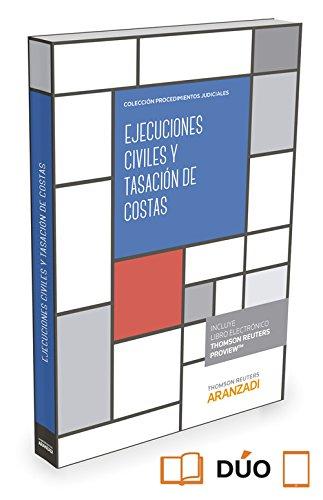 Ejecuciones civiles y tasación de costas By Equipo de Redaccin. Editorial Aranzadi