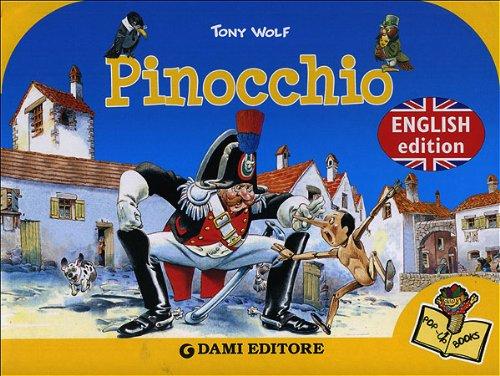 Pinocchio By Tony Wolf