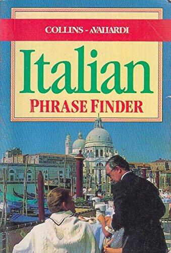 Collins Italian Phrase Finder (Collins) By Frederico Bonfanti