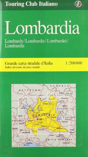 Lombardy (Milan, Verona, Ticino) (Regional Maps)