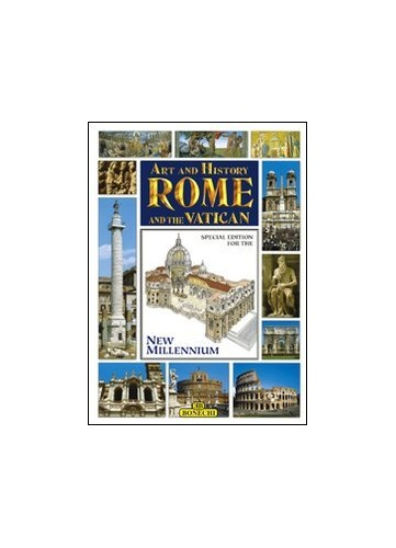 Art and History of Rome and the Vatican by Bonechi Books