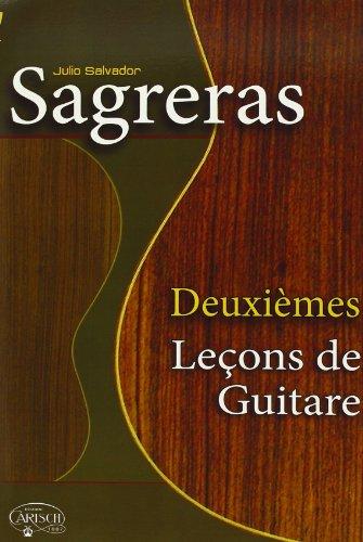 Deuxiemes Leçon de Guitare Livre Sur la Musique By Julio Salv Sagreras
