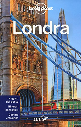 Londra con cartina - Guida Lonely Planet By VV AA