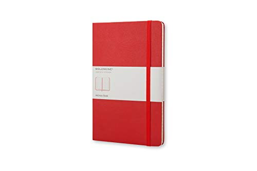 Moleskine Large Address Book Red by
