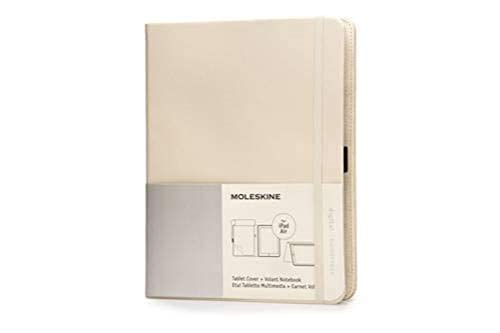 Moleskine Khaki Beige Ipad Air Cover With Volant Notebook By Moleskine