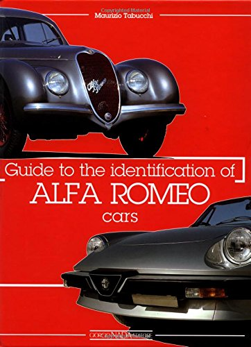 Guide to Identification of Alfa Romeo Cars By Maurizio Tabucchi