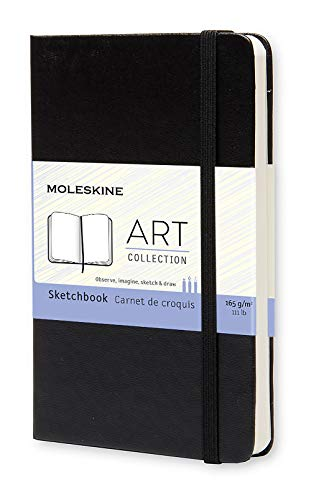 Moleskine Classic Notebook Pocket Sketch 80 Pages 40 Sheets