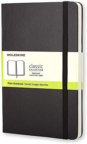 Moleskine Large Plain Notebook Black By Moleskine