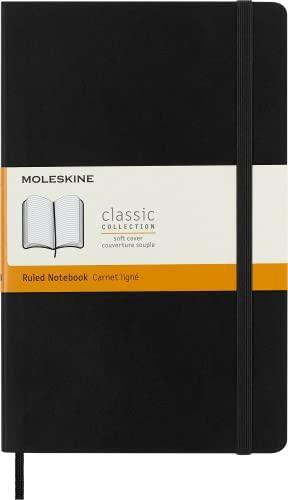 Moleskine Soft Cover Large Ruled Notebook By Moleskine